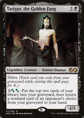 MTG Magic MODERN ZOMBIE DELVE DECK Sidisi Undead Vizier Empty the Pits Custom