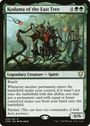 Etched ** Magic FOIL Commander Legends ** Kodama of the East Tree NM//MT!