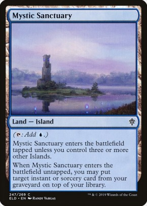 Mystic Sanctuary This Card Is Incredible Mtgnexus Gain lands, life lands, refuges, khans taplands. mystic sanctuary this card is