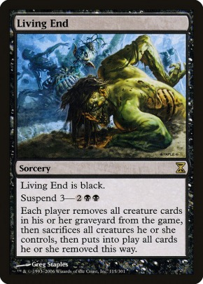 Mtgnexus Living End From Time Spiral