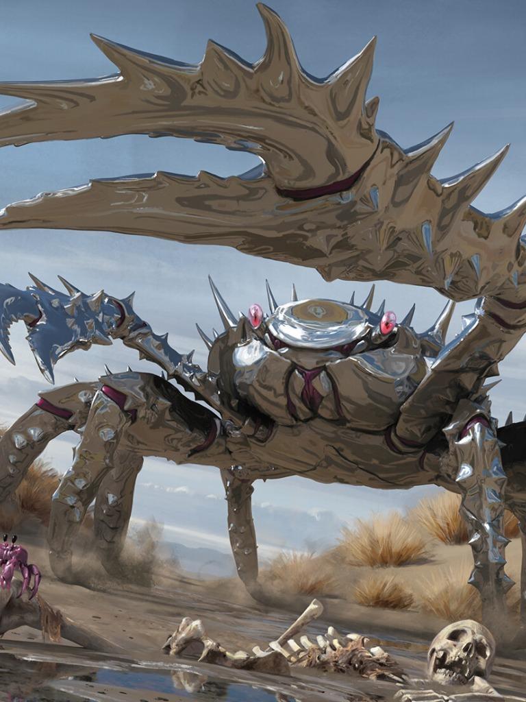 Legions *Rare Beast NM* MTG 1x CHROMESHELL CRAB