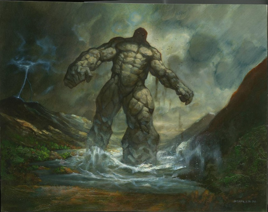 Colossus of Sardia by Greg Staples