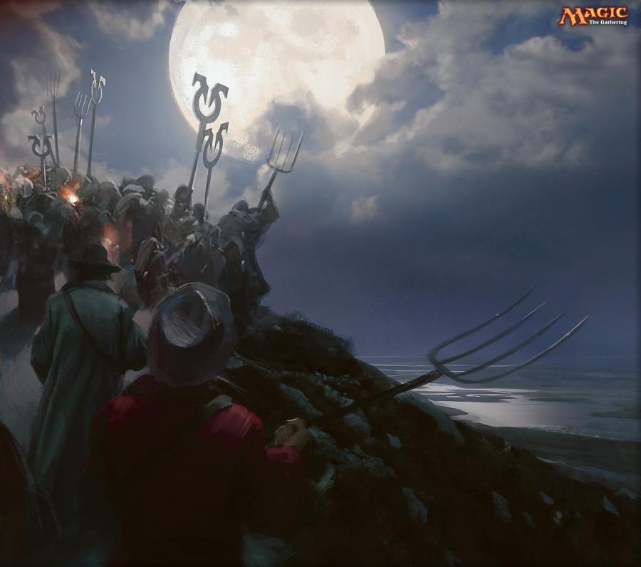 MTGNexus - Rally the Peasants Art by Jaime Jones